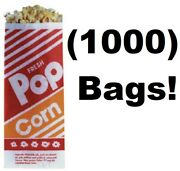 1000 Count Gold Medal 2053 1 Oz. 3 3-1/2 X 2-1/4 X 8 Popcorn Bags