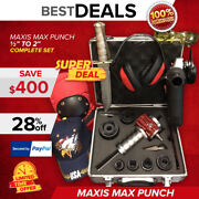 Maxis Max Punch Set 1/2 - 2 Display Free Grinder Knife Extras Fast Ship