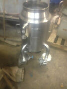 10 Gallon Allegheny Bradford Corp Stainless Steel Reactor No Lid