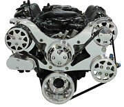 Billet Serpentine Front Drive System - Chrysler Small Block - Machined W/ac And Ps