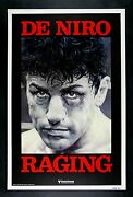 Raging Bull Cinemasterpieces Rolled Advance Boxing Boxer Movie Poster Nm C9