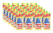 Little Trees Hanging Car And Home Air Freshener Vanilla Pride Scent -pack Of 24