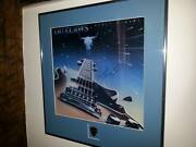 Hugie Thomassonoutlaws Lynyrd Skynyrd Autographed Lp//with Hugieand039s Guitar Pickh