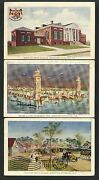 Jamestown Expo 1907 5 Different Used Official Souvenir Post Cards Bt5412