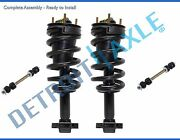 Chevy Suburban 1500 Gmc Yukon Struts Assembly+ Sway Bars Fit Front Left And Right