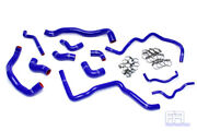 Hps Silicone Radiator+heater Hose For 06-08 A3 Gti Jetta Mk5 2.0t Turbo Lhd Blue