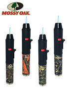 50 X Mossy Oak Licensed Torch Gun Pen Torch Lighter Butane Refillable With Stand