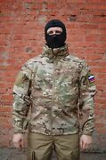 Jacket For Special Forces Operativnik Membrane Soft Shell Multicam By Garsing