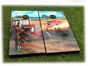 Tailgate Boards/wall Art - Chuck Freitag Red Tractor