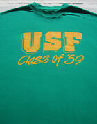 Vintage Usf Class Of '59 Size Xl T-shirt Vtg