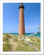 Little Sable Point Lighthouse In Art Print Home Decor Wall Art Poster - C