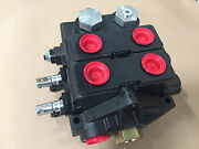 Parker Gresen Hydraulic Valve V20 Replacement, 2 Cylinder Spools, Double Acting