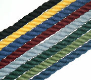 Top Quality Piping/edging Rope 10mm Cord, Sold Btm, Various Cols, Art 2810
