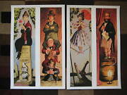 Vintage Disney 11 X 17 Haunted Mansion Stretching Room Collectorand039s Prints
