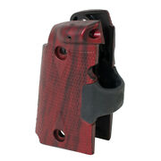Kimber Crimson Trace Lasergrips Rosewood For Micro 9 Mpn 4100201