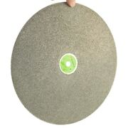 24 Inch 600mm Grit 80 Coarse Electroplated Diamond Coated Flat Lap Disk Jewelry