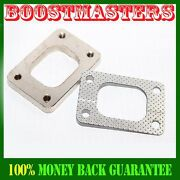 For Turbo T25 T28 Gt25 Gt28r Gt2876r Turbo Inlet Exhaust 4bolt Gasket And Flange