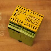 Pilz Pnozx9 Safety Relay, 774605 120vac 24vdc 7s 2o - Used