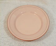 "11"" Pink Terra Cotta Pie Plate Quiche Baking Dish PACIFIC POTTERY PRODUCTS USA"