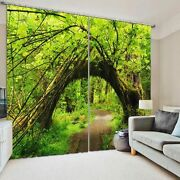 Olympic National Park 3d Blockout Photo Printing Curtains Draps Fabric Window