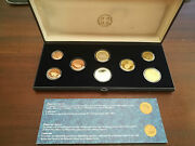 Greece 2011 Complete Euro Coins Proof Set In Original Box And Certificate Pp Kms
