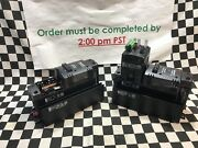 Lot Of 2 Watlow Ez-zone St Integrated Control, Stcl-f1ag-caaa And Stcl-f1as-caaa