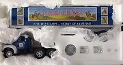 First Gear Mack B-model Tractor With Trailer 'legends Of The West' Us Mail