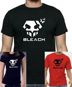 Bleach Anime Inspired Hollow Mask T-shirt. Unisex Or Women's Fitted Tee Printed