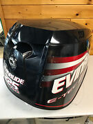 2007 Evinrude E-tec 225 Hp 2 Stroke Outboard Top Cowl Hood Cover Freshwater Mn