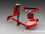 Cb Chassis - 1961-1969 Lincoln Continental, Tubular Control Arms Set, Bc Fab