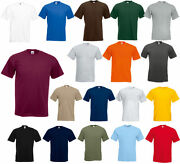 Fruit Of The Loom Menand039s S4xl And 510 Oz Short Sleeves Hd Cotton T-shirt
