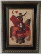 Queen Of Hearts Limited Edition Canvas Print By Daniela Ovtcharov 3 Of 150 Coa
