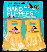 Disney Hand Flippers Mip Sealed Mickey Mouse Walt Disney Productions Vintage