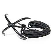 Axca Outdoor Flying Climbing Claw Hooks 4 Paws Ninja Claw Mountain Hook 10m Rope