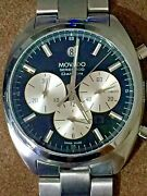 Movado Datron Series 800 Chronograph Automatic Menand039s Watch Authentic