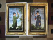 Vintage Disney Haunted Mansion Dueling Ghosts Collectorand039s Poster Prints T2