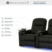 Seatcraft Venetian Home Theater Seating Recliners Seat Chair Couch Living Room