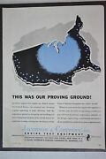 Jacobson And Company Engine Test Equipment Aircraft Parts 1943 Vintage Print Ad