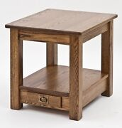Mission Style Arts And Crafts End Table 4861