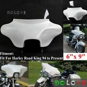 Detachable Batwing Front Headlight Fairing 6x 9 Speakers Stereo For Harley