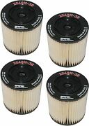 Racor 2040n30 Fuel Filter 2040 N-30 30 Micron Red 4 Pack
