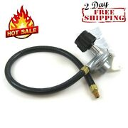 21 Propane Hose Gas Regulator Weber Grill Tank Connector 1/8 Male Flare Qcc1
