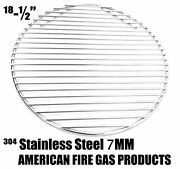 Stainless Steel 304 Round Cooking Grid For Big Green Egg Large Egg Grill Models