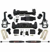 Readylift 7.0 Inch Lift Kit System - Shocks Black- 4wd 2015-2017 For Ford F150