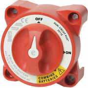 Blue Sea Systems 5511e E-series Battery Switch On-off Dual Circuit Plus