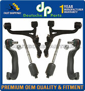 Mercedes W220 4matic Front Lower Control Arms Ball Joints Steering Tie Rod Kit 8
