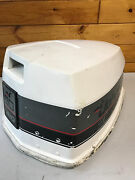 1990 Johnson 90 Hp 2 Stroke 2 Cylinder Hood Cover Top Cowl Freshwater Mn