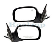 06-08 Pacifica Rear View Door Mirror Power Heated W/o Memory Paintable Pair Set