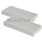 04-11 Qx56 Paper Style Interior Blower Cabin Air Filter 2-piece Set Pair 2011 10