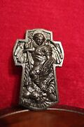Wooden Wall Cross. Carved From Antique Rare Wood. Wall Cross. Rare. Orthodox.